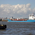 Bro Developer sailing from Stanlow to Amsterdam