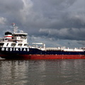 Besiktas Scotland arriving Eastham Locks