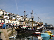 Golden Hind Replica at Brixham