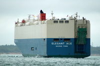 Elegant Ace IMO 9561265 58939gt Built 2010 Car Carrier