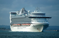 Caribbean Princess IMO 9215490 112894gt Built 2001 Passenger Cruise Ship