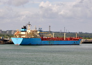 Romoe Maersk at Fawley Oil Terminal