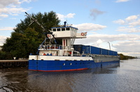 Monica departing Latchford 14th October 2012