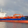 Chemtrans Elbe arriving for Stanlow 17th October 2012