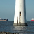 SN Olivia and Stolt Sandpiper arriving on the Mersey 5th November 2012