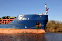 Russian Flagged General Cargo Ship Suna 5th December 2012