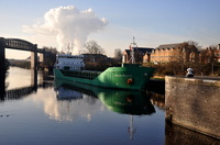 Arklow Resolve at Latchford Locks 11th December 2012