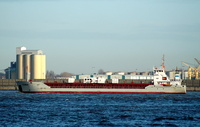 Cembay IMO 9183465 3017gt Built 1997 Cement Carrier