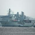 RFA Fort George (A388)  off to the Breakers 16th January 2013
