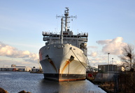 RFA Fort Rosalie at Birkenhead