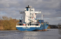 Coastal Deniz heading for Irlam 6/2/2013