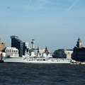 HMS Illustrious Liverpool 18th February 2013