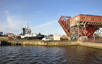 Smit Sandon at Birkenhead Docks Tower Road Bridge