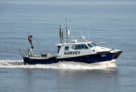 Survey Vessel Royal Charter at Eastham