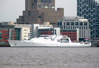 HNLMS Groningen offshore patrol vessel 3rd March 2013