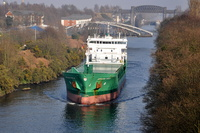 Arklow Field  IMO 9527673 first visit on the Canal