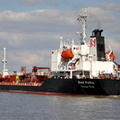 Stolt Puffin sailing for Rotterdam