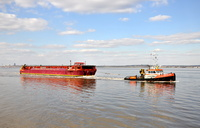 MTS Valour and Terra Marique inward for Ellesmere Port