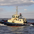 Svitzer Nari at Eastham 2nd April 2013