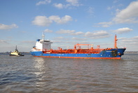 Chemtrans Ems arriving for Eastham QE Docks 2nd April 2013