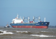 Pos Almandin on the Mersey 16th April 2013
