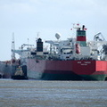 Tankers SKS Tweed & Lovina alongside Tranmere Oil Terminal