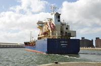 Nordic Nora at Birkenheads East Float 16th April 2013