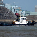 Zeebrugge IMO 8915483 249gt Built 1992 on the Mersey 16/4/13