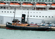 ST Challenge IMO 5067792 212gt Built 1931 Preserved Steam Tug