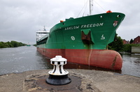Arklow Freedom swinging for the lock