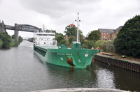 Arklow Field arrives Latchford 1st July 2013