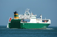 Hartland Point IMO 9248538 23235gt Built 2002 Ro Ro Cargo Ship