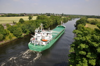 Arklow Rover  taken from the Warburton Bridge 18th July 2013