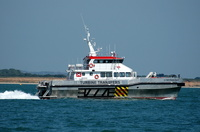 Cymyran Bay on trials in the Solent July 2013
