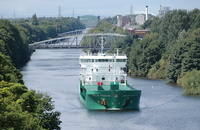 Arklow Freedom heading for Manchester 2nd August 2013