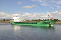 Arklow Freedom on her 4th visit this year 2013 to Manchester