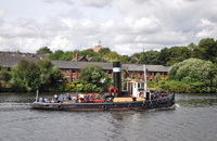 ST Kerne on her annual visit to Salford Quays where she will be open to the public