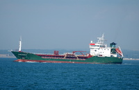 Janne Wonsild IMO 9010931 2349gt Built 1993 Chemical/Oil Tanker