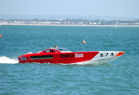 Powerboat Smokin' Aces B74