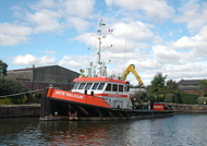 MTS Valour at Ellesmere Port