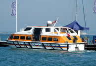 Europa Tender No2 at Cowes Isle of Wight
