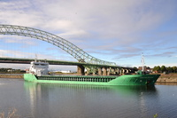 Arklow Faith passing Runcorn 21st September 2013