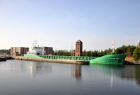 Arklow Raven departing Irlam for Manchester 28th September 2013