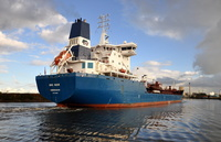 Bro Nuuk inward for Stanlow 4th November 2013