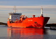 Sten Idun IMO 9261102 11935gt Built 2002 Chemical/Oil Tanker