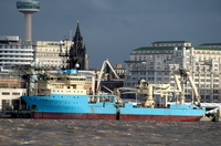 Maersk Responder IMO 9215206 6204gt Built 2000 Cable Layer