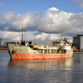 WD Mersey dredging at Salford Quays 11th January 2014