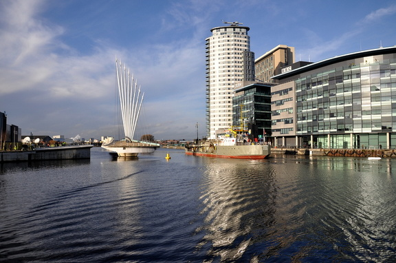 W D Mersey at Salford Quays 13th January 2014