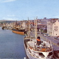 The Inner Harbour Douglas Isle of Man 1967 (Postcard)