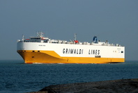 Grande Roma passing Calshot 11th March 2014
